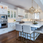 cherry hills kitchen remodel white painted cabinets