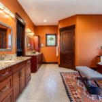 Southwestern master bath remodel castle rock colorado