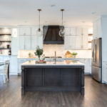 Kitchen Remodel with painted kitchen in highlands ranch colorado