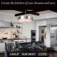 wolf sub zero cove kitchen appliance promotion denver colorado